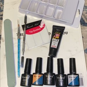 Poly gel nail kit-white EVERYTHING INCLUDED